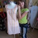 Aus der Nähwerkstatt 06 - Pias Kleid