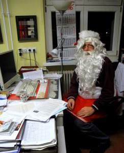 Weihnachtsgrüße vom Chef