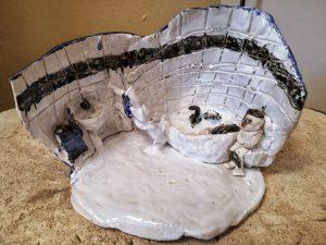 Lindas Badezimmer aus Keramik