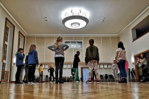 Hip Hop in der Aula 1