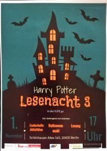 Einladung zur Harry Potter Lesenacht