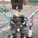 Ballermann 2020, Skulptur aus abgebrannten Feuerwerkskörpern