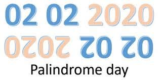 Palindrom Tag Zahlen 02.02.2020